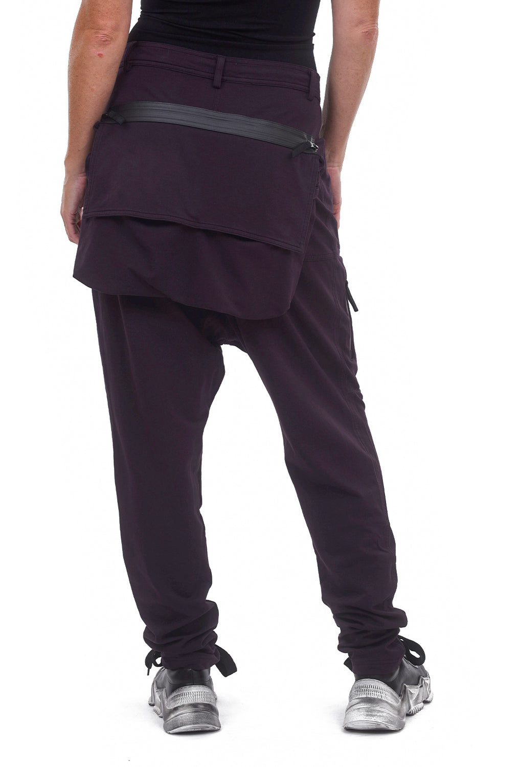 Rundholz Black Label Big Zip Pocket Pants, Merlot