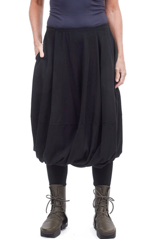 Rundholz Black Label Twist Detail Skirt, Dark Gray