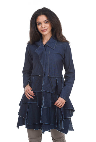Cynthia Ashby Willard Jacket, Denim