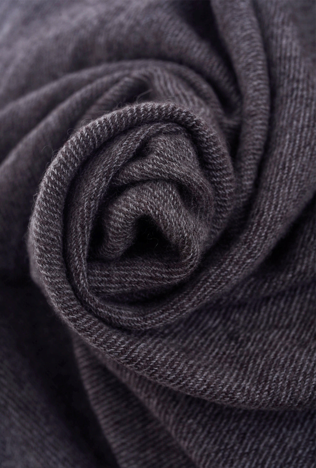 Grisal Grisal Afghan Cashmere Scarf, Smoke Black One Size Black