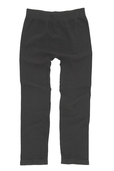 Tees by Tina MicroRib Capri Leggings, Multiple Colors One Size - Black