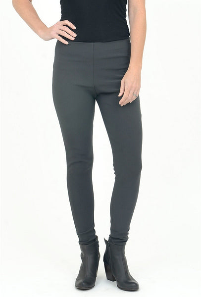Equestrian Ribbed Deonna Legging, Carbon XSmall