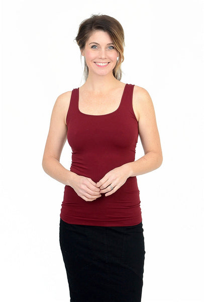 Tees by Tina Smooth Tank, Rouge