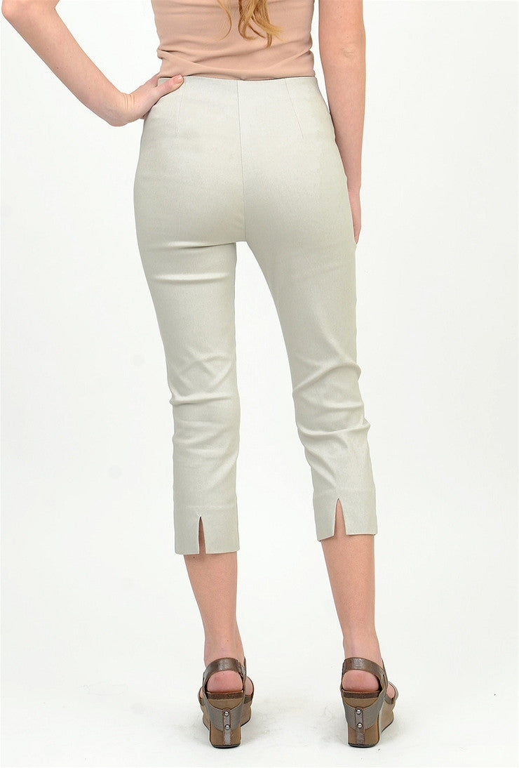 Equestrian Mindy Cropped Pant, Desert Sand