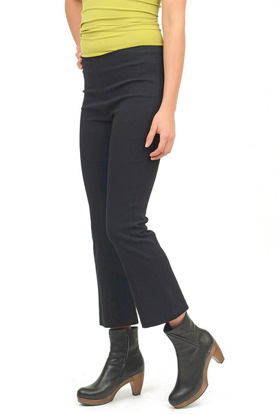 Equestrian Miley Crop Pant, Black XSmall