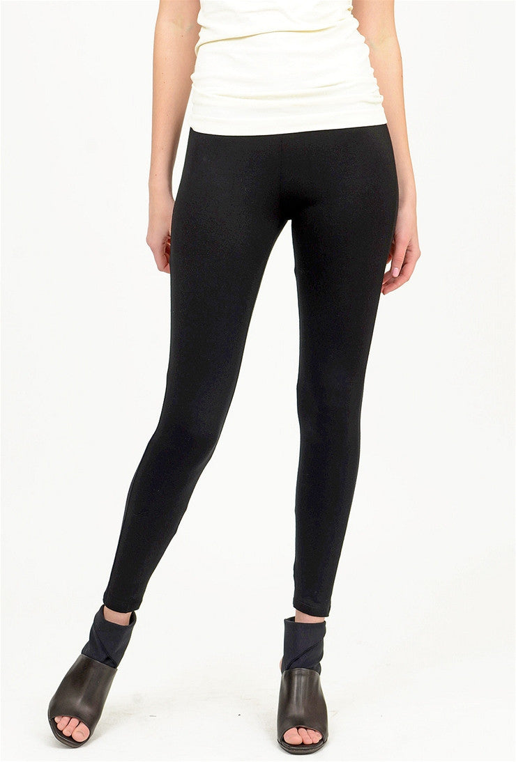 Comfy USA Comfy Basic Long Legging, Black