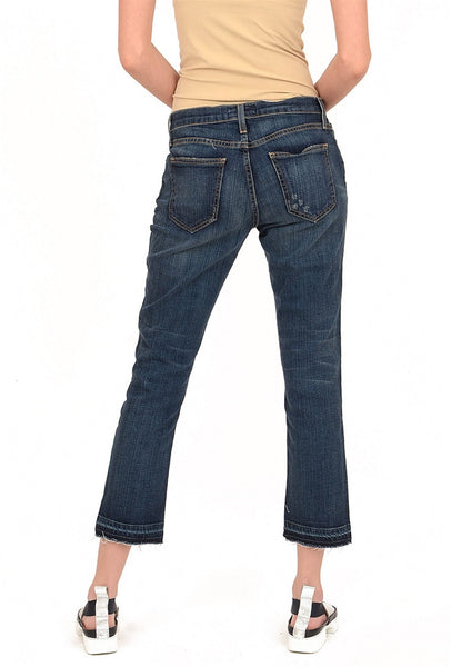 Current/Elliott The Cropped Straight Jean, Loved 25