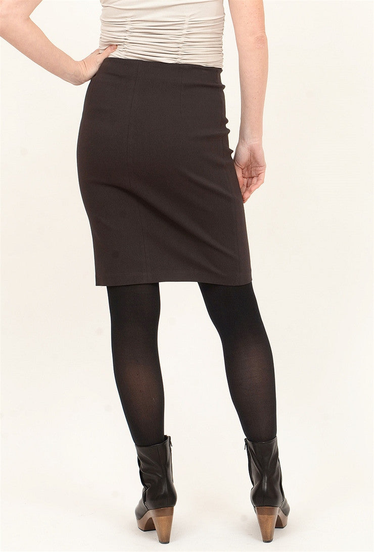 Equestrian Brooke Skirt, Mink Brown