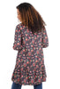 People Tree V&A Print Yasmin Dress, Berry Multi