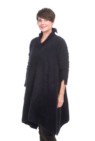 Rundholz Collection Beyond Luxe Tunic, Black