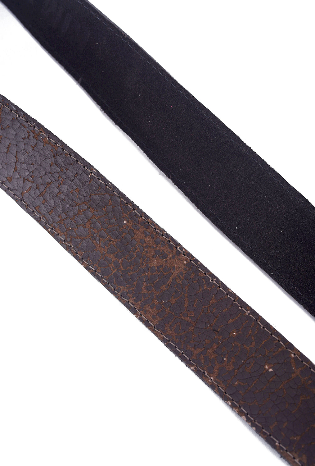 Kim White Heirloom Basic Belt, Chocolate Brown