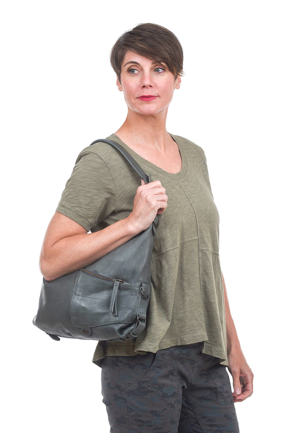 Aunts & Uncles June Weird Handbag, Urban Chic Green Green