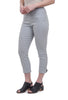 Equestrian Jenner Button Pant, Silver
