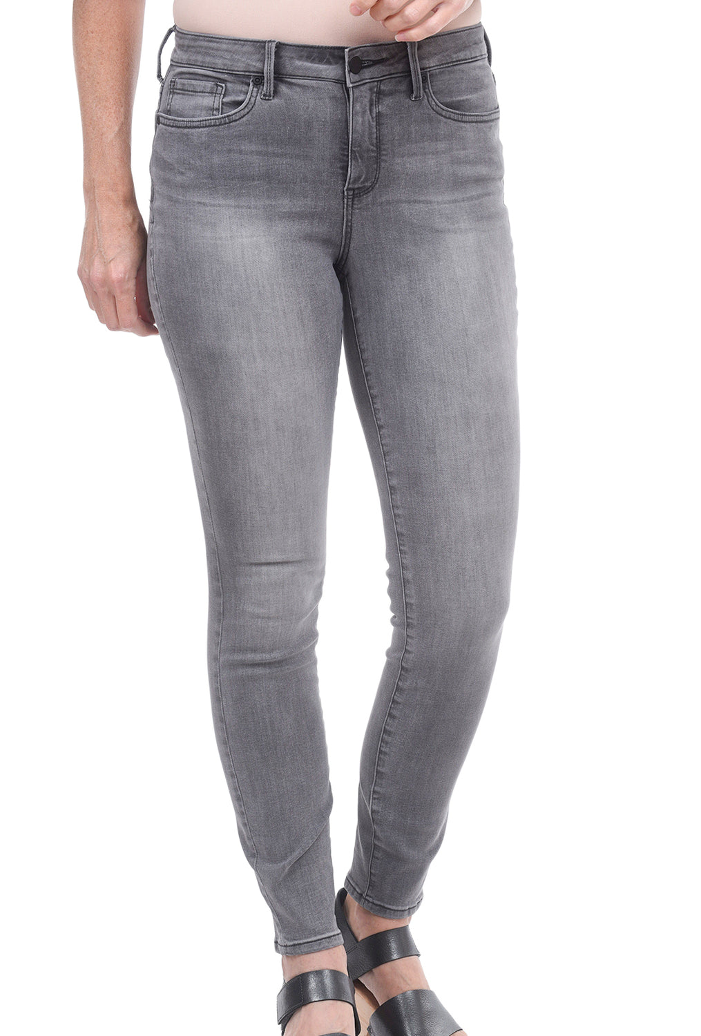 NYDJ Ami Skinny Washed Denim, Tullie Gray