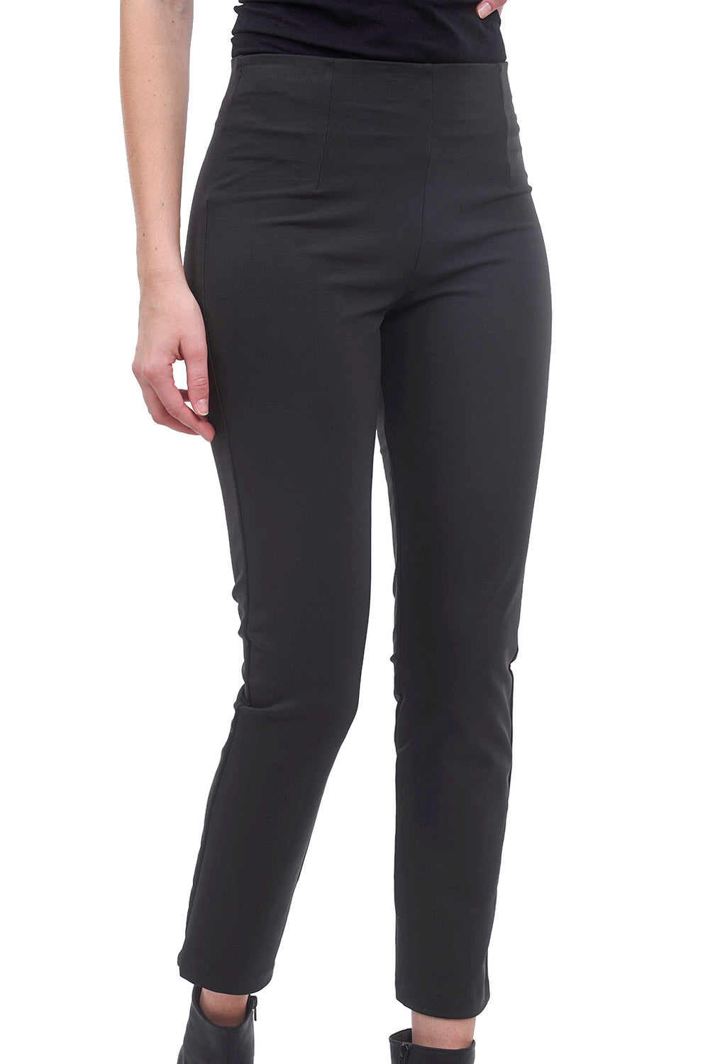 Equestrian Zani Ponte Tech Pants, Steel