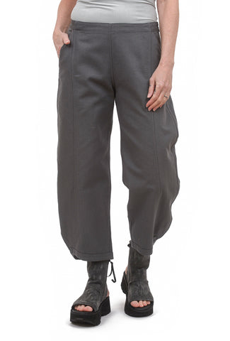 Beyond Threads Canvas Relaxed Trouser, Koala Gray