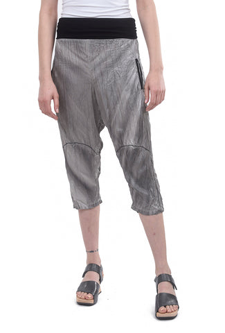 Ozai Hanger Trousers, Silver Gray