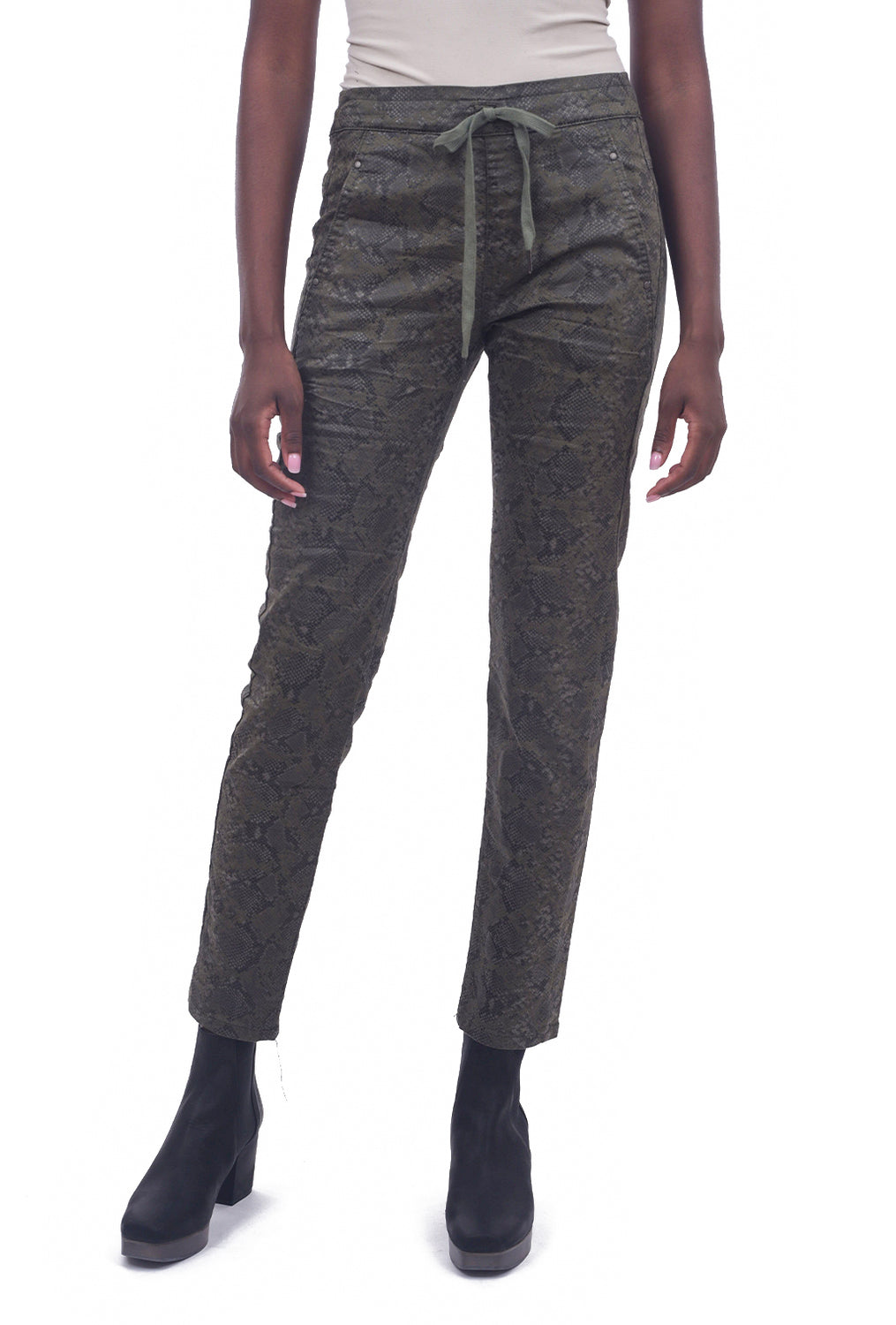 Alembika Bika Favorite Shiny Skinnies, Green Python