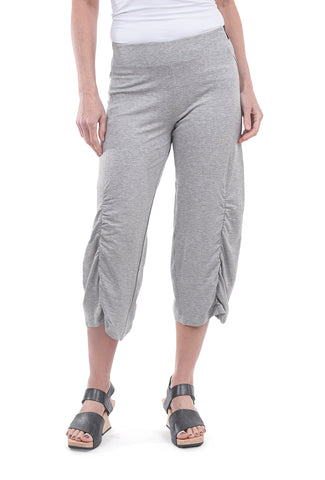 Equestrian Birdie Jersey Pants, Heather Gray