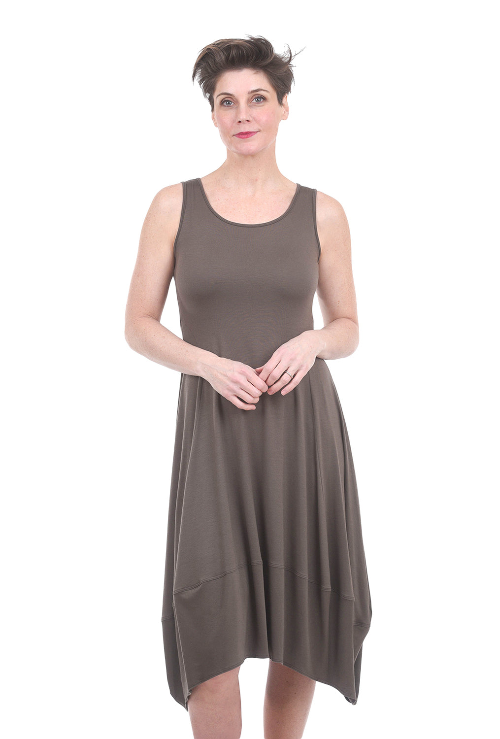 Comfy USA Modal Lisa Dress, Musk