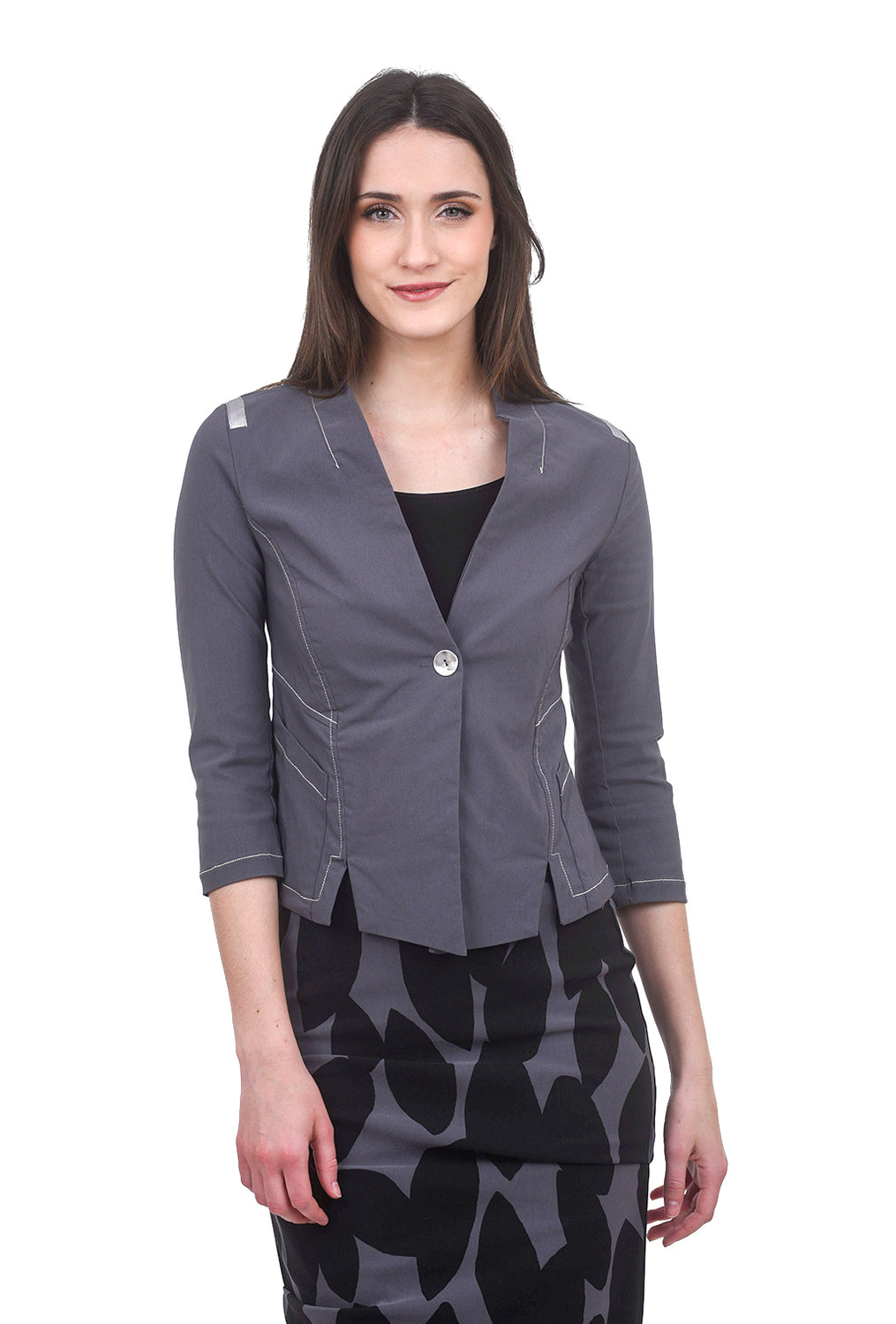 Porto Toulouse Jacket, Fumo Gray