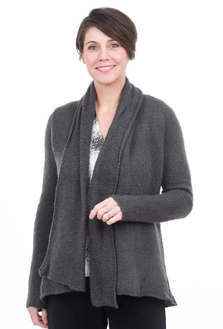 Wooden Ships Cozy Wrap, Gray