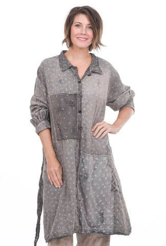 Magnolia Pearl Etty & Molly Calico Dress, Washed Earth One Size Earth