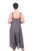 Cut Loose Parachute Cropped Jumpsuit, Iron Gray