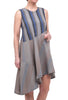 Cynthia Ashby Twirl Dress, Gray