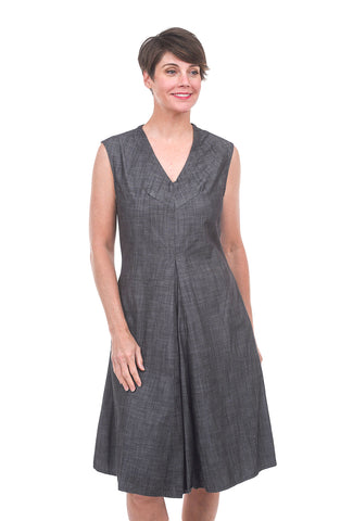 Prairie Underground Austin Dress, Black Chambray