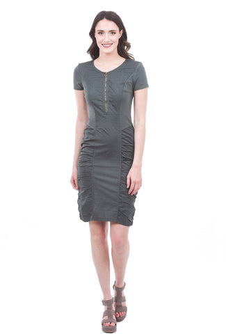 XCVI Meara Dress, Hawthorne Green