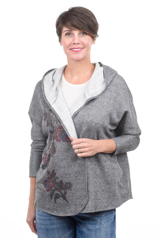 Et' Lois Montreal Fleece Jacket, Charcoal