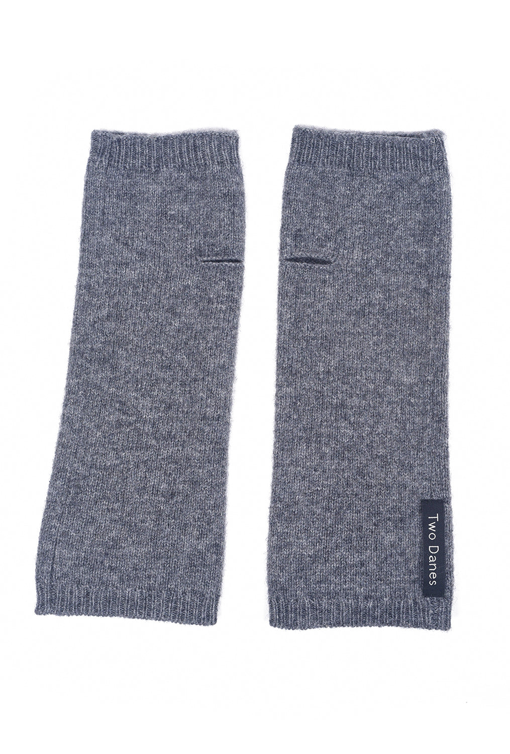 Two Danes Yumano Arm Warmers, Gray One Size Gray