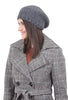 Santacana Madrid Wool/Alpaca Beret, Gray One Size Gray