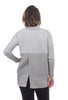 Fundamental Coast Flipside Fleece Cardie, Heather Gray