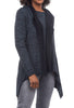 Cut Loose Marled Hooded Jacket, Blueprint