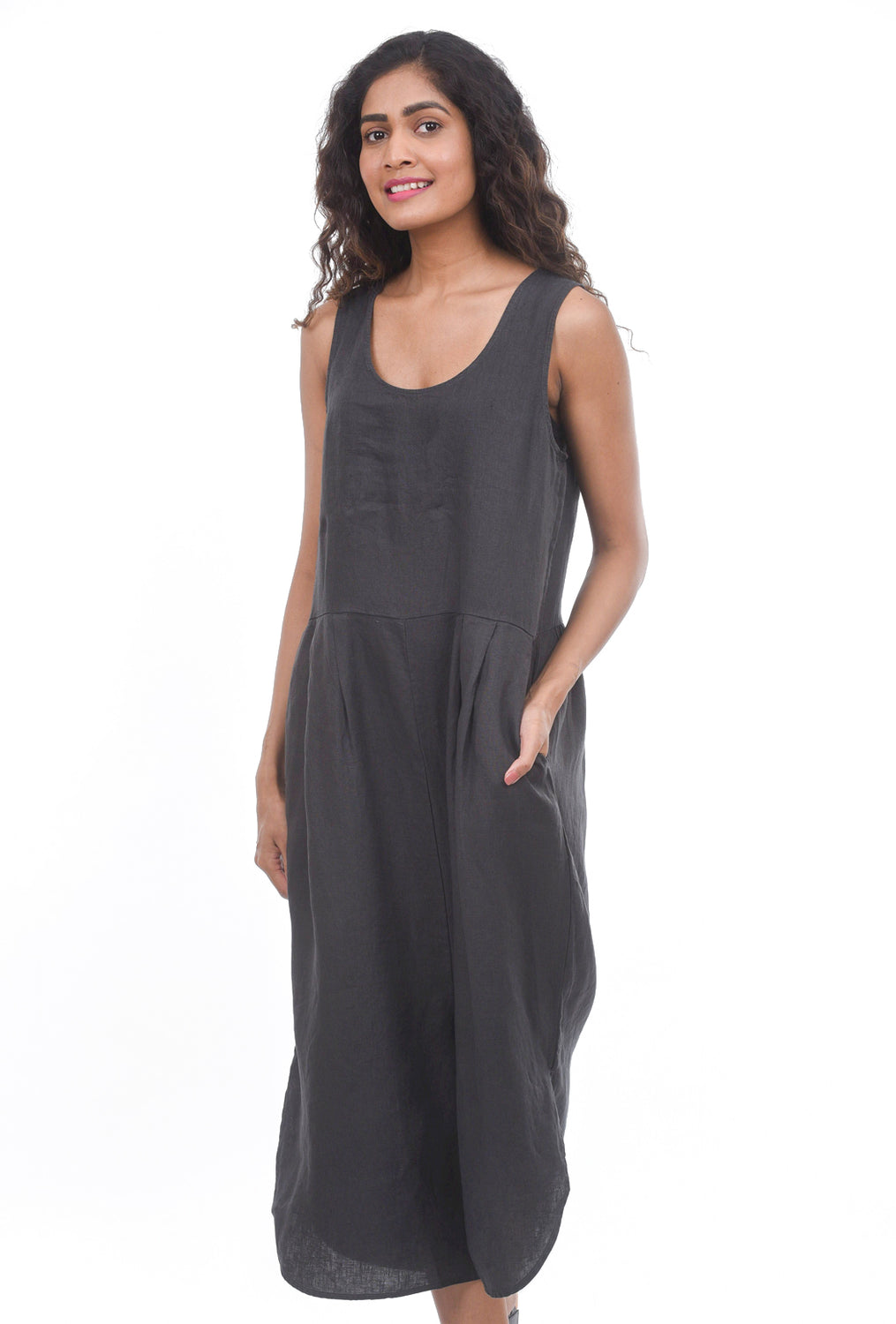 Filosofia Sam Linen Jumpsuit, Ink