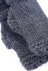 Santacana Madrid Wool/Alpaca Fingerless Gloves, Gray One Size Gray