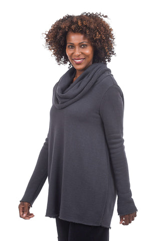 Veronique Miljkovitch Aspen Pullover, Slate