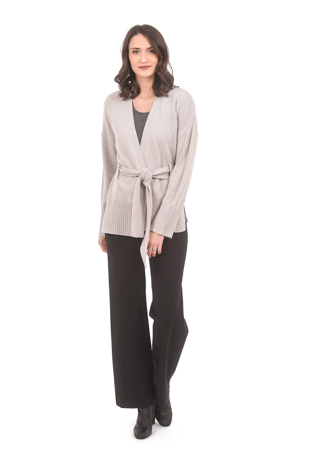 Margaret O'Leary Knits Cece Kimono Cardie, Marble