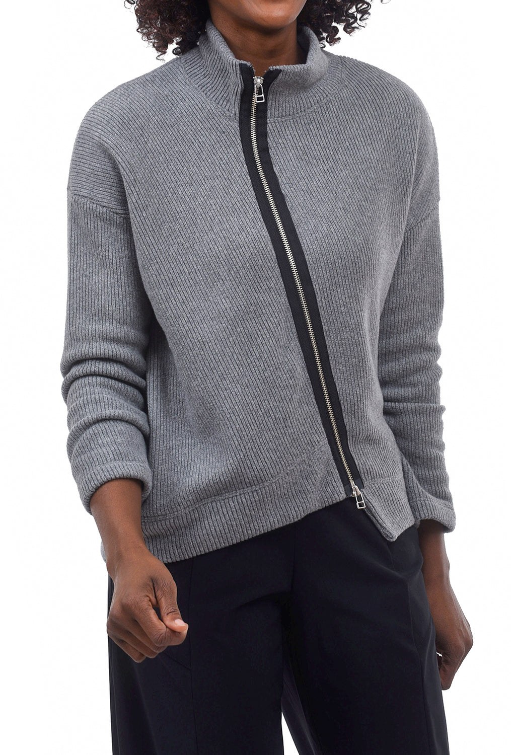 Veronique Miljkovitch Roxy Jacket, Gray