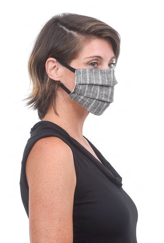 Prairie Underground Face Mask, Hemp Stripe