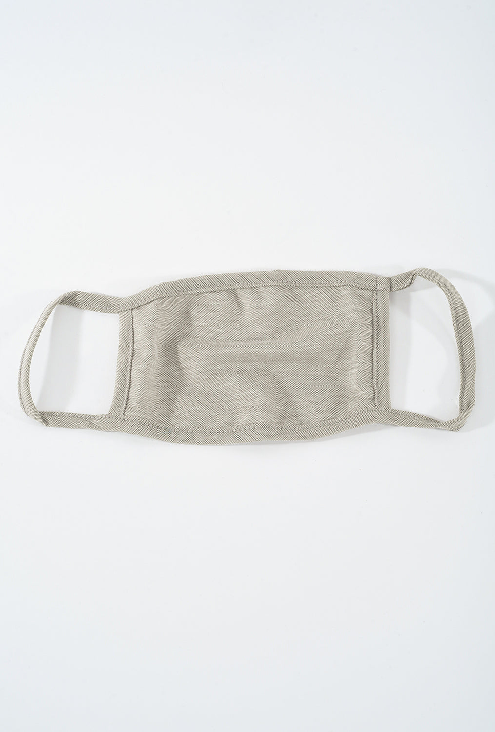 Coin1804 Cotton Jersey Face Mask, Stone