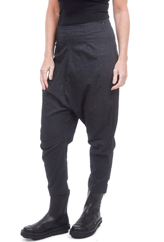 Rundholz Black Label Cotton-Wool ER Pants, Dark Gray