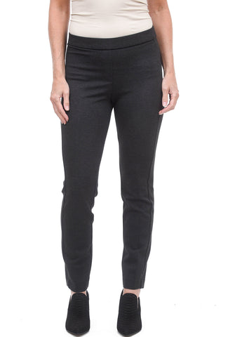 Estelle & Finn Knit Stretch Trousers, Charcoal