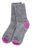 Little River Sock Mill Cushioned Boot Socks, Charcoal One Size Charcoal