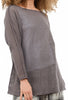 Cynthia Ashby James Sweater, Gray