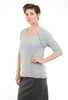 Wilt Broken Stitch Sweatshirt, Gray Heather
