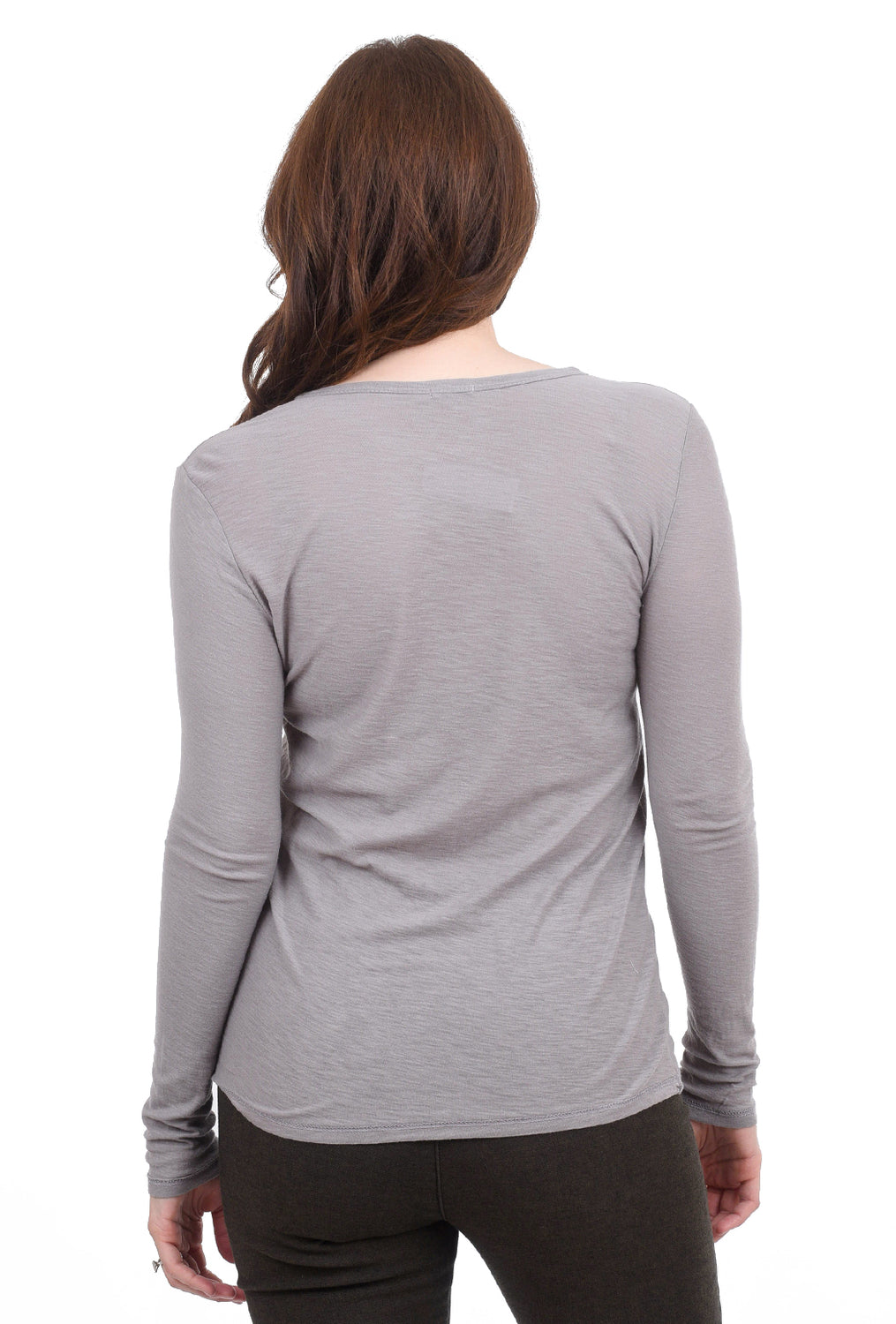 Commune Malibu Crewneck Tee, Light Gray