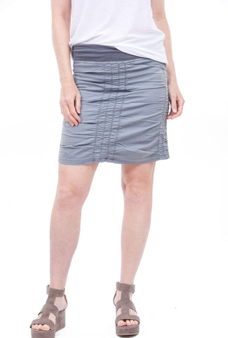 XCVI Trace Skirt, Spry Blue